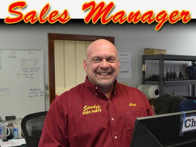 Auto Salvage Parts Sales Manager